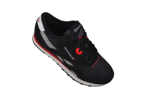 Reebok Classic CL Nylon black//coal//grey Sneaker//Schuhe schwarz