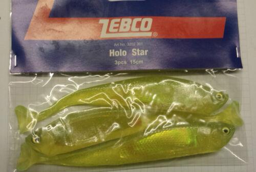 mousseux vert gelée envoi gratuit. Zebco holo star shad lure 15 cm .3 pieces