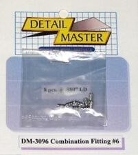 DETAIL MASTER 1/24-1/25 Combination Fitting #6 (8pc) DET3096