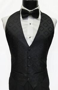 Large Mens Ralph Lauren Guava #70 Vineyard Wedding Prom Fullback Tuxedo Vest