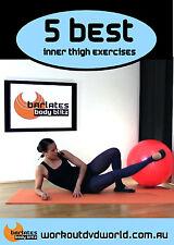 Barre Toning EXERCISE DVD Barlates Body Blitz - 5 Best Inner Thigh Exercises!