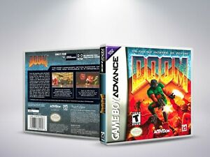 Doom-GBA-Replacement-Cover-Case-NO-Game