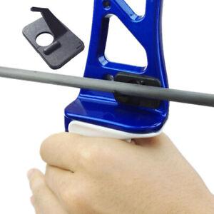 6 Pcs Archery Recurve Bow Adhesive Arrow Rest Right Left Hand Accessories
