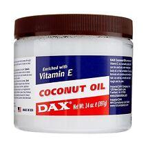Dax Aceite de Coco Enriquecido Con Vitamina E para la piel y pelo 398ml (397g)