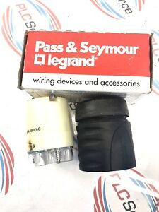 PASS-amp-SEYMOUR-LEGRAND-L830-C-TURNLOK-CONNECTOR-30A-480VAC-2P-3W