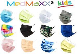 MedMaXX HS-700 3-lagige medizinische Kinder OP Maske Typ II 50 Stück Farbauswahl