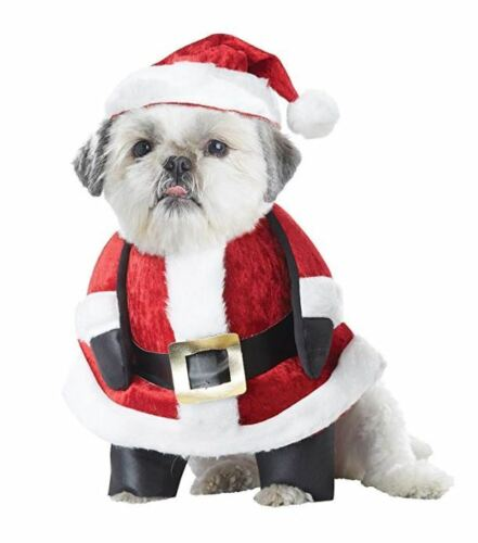 Santa Paws Claus Dog Costume Christmas for Pets XS S M L
