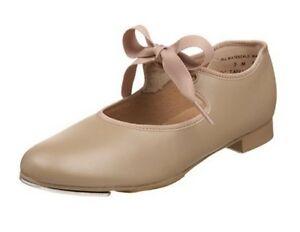 So Danca TA35 Black Toddler Child Size 7 Medium Classic Tie-Up Tap Shoes