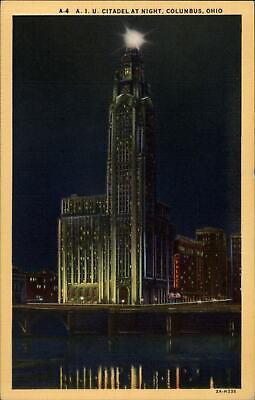 Hotel Deshler Building-Columbus-Ohio-1923 Vintage