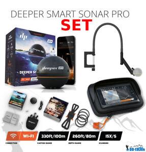 Deeper-Smart-Sonar-Pro-Set-Smartphone-Fixation-Bras-Flexible-Boitier-XL