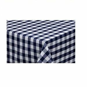 Image Is Loading Gingham Tablecloth 52 034 X 90 034 Oblong