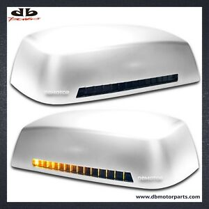 DBMOTOR-2014-2018-Silverado-Mirror-Cover-with-LED-Indicator-Chrome