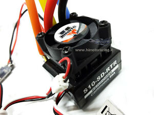 03307 Regolatore Contrôle électronique de vitesse sans balai 60a Bec 5v-3a Lipo 2s Himoto