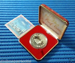 1987-Singapore-Mint-039-s-Lunar-Series-10-Year-of-the-Rabbit-1-oz-Silver-Proof-Coin
