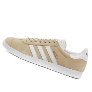 ADIDAS-WOMENS-Shoes-Gazelle-Savannah-White-amp-Red-EF6507