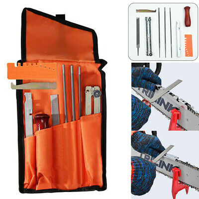 10x Chainsaw Sharpening File Stihl Filing Kit Files Tool Chain Sharpen Tools Saw