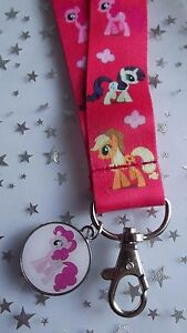 MY LITTLE PONY CHARM CANVAS DOUBLE SIDED NAME TAG 3,4,5,6,7,8,9 ,10 Y GIFT bag