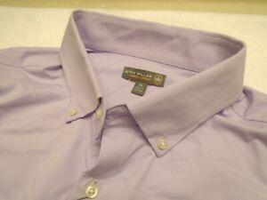 Peter-Millar-Crown-Sport-Summer-Comfort-Pale-Purple-Shirt-NWT-135-XL
