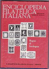 RARO VOLUME ENCICLOPEDIA FILATELICA ITALIANA REGNO DI SARDEGNA