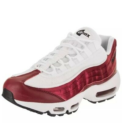 NWT Womens Nike Air Max 95 LX NSW Running Shoes Red White AA1103 601 SZ 7.5 | eBay
