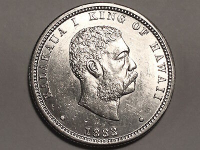 Choice/gem Bu Luxuriant In Design The Cheapest Price 1883 Hawaiian Quarter