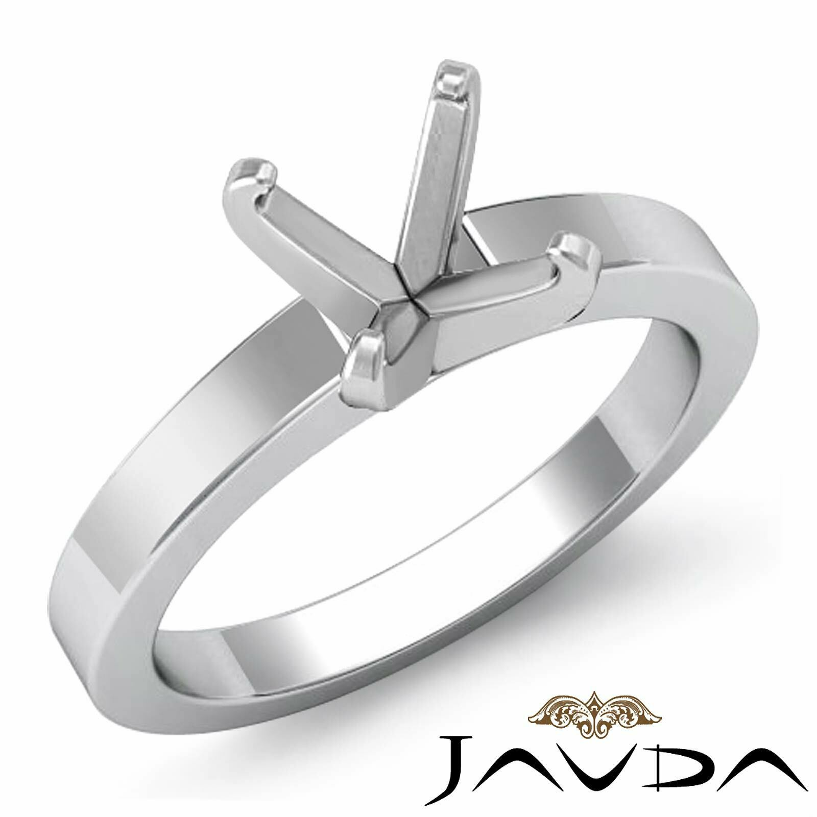 5g. Diamond Classic Simple Solitaire Engagement Ring Setting 3mm. Semi Mount