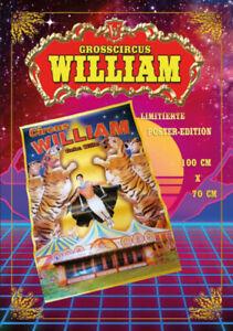 Circus William - POSTER 100x70 cm