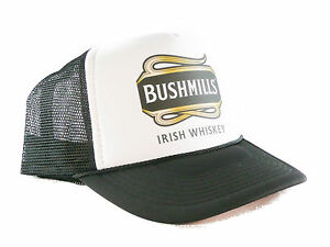 afc0fe806dcbf Image is loading Bushmills-Irish-Whiskey-Trucker-Hat-mesh-hat-snapback-