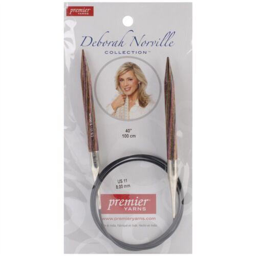 "Premier Fixed Circular Knitting Needles 40/""-size 11//8mm"