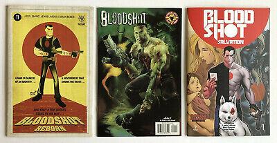 BLOODSHOT # 2 VALIANT Comics 1993 MOVIE COMING w VIN DIESEL HIGH GRADE