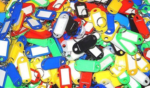 10Schlüsselanhänger Schlüsselschilder Namensschilder Bunt Gemischt 5