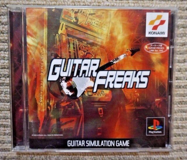 GUITAR FREAKS - PS Playstation PS1 - JAPAN Import