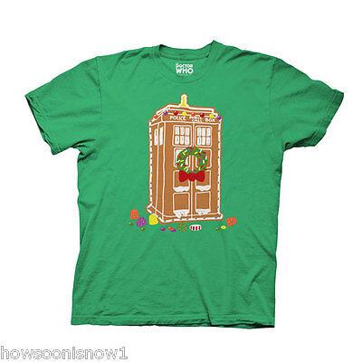 All'ingrosso Di 6 Doctor Who Zenzero Tardis Verde T-shirt Nuovo Xxl