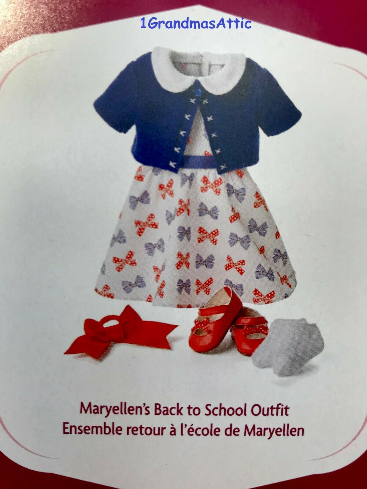 American Girl Maryellen School Outfit