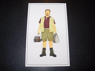 "MAX DALTON The Big Lebowski WALTER SOBCHAK 2X4/"" poster art handbill"