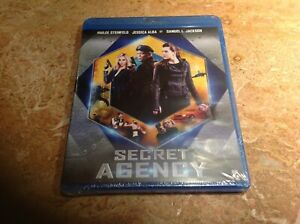 Bluray-Secret-Agency-Jessica-Alba-Samuel-L-Jackson-NEUF-cellophane