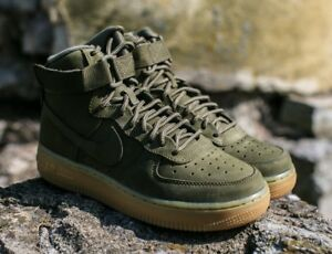 Details about NIKE AIR FORCE 1 HIGH WB (GS) SZ: 4Y YOUTH (WMNS 5.5) #922066 202 RETAIL: $95.00