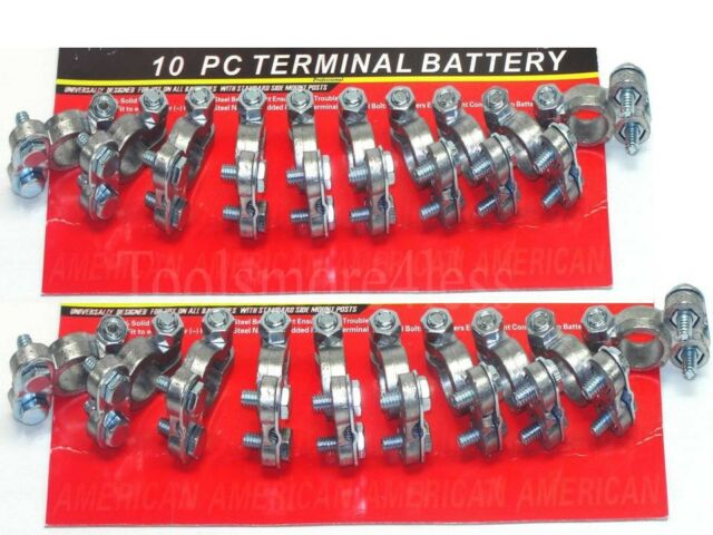 BATTERY TERMINAL ENDS TOP POST TYPE 20 PC