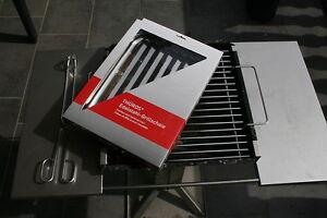 thueros grillschale th ros gse100 edelstahl ebay. Black Bedroom Furniture Sets. Home Design Ideas