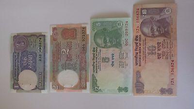 INDIAN 100 RUPEE Note Bank Bill MAHATMA Gandhi BILL Purple 100 RUPEE Circulated