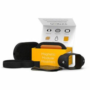 MagMod-Basic-Kit-Flash-Modifier-Set-MagGrip-MagGel-Set-MagGrid-UK-Stock