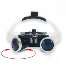 35x Magnification Binocular Dental Loupe Surgery Surgical Magnifier With Led