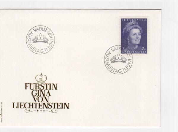 1971 Fdc Liechtenstein Vaduz /fdce30 Utilisation Durable