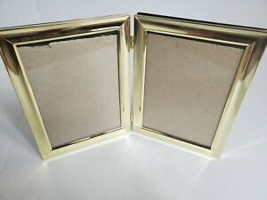 Vintage Gold Double Photo Frame