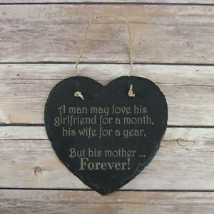 Personalised-Birthday-HomeGift-Mother-Forever-Slate-Hanging-Sign-Plaque-Birthday