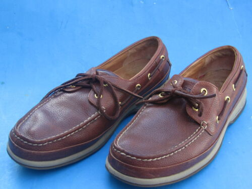 Sperry Top-Sider Gold Cup Sport Casual Nubuck Sneaker Men 8 Cement