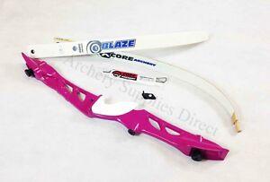 """Rhd 68"""" Rose Core Archery Jet Récurve Bow Set-afficher Le Titre D'origine"""