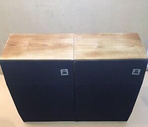 Matching-Pair-Of-Celestion-UL6-House-Hifi-Speakers-Vintage-Working-Separates