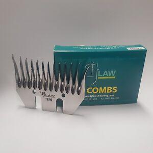 TJ Law John Hand Shearing Combs (5 Combs)