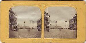 Venezia-Italia-Stereo-Tessuti-Colorati-Vintage-Albumina-Ca-1860